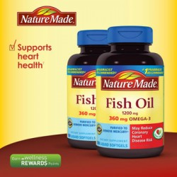 Dầu cá Nature Made-Fish oil Nature Made 1200mg hộp 120 viên
