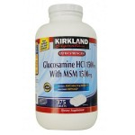 Glucosamine hci 1500mg with msm 1500 mg Kirkland 375 viên